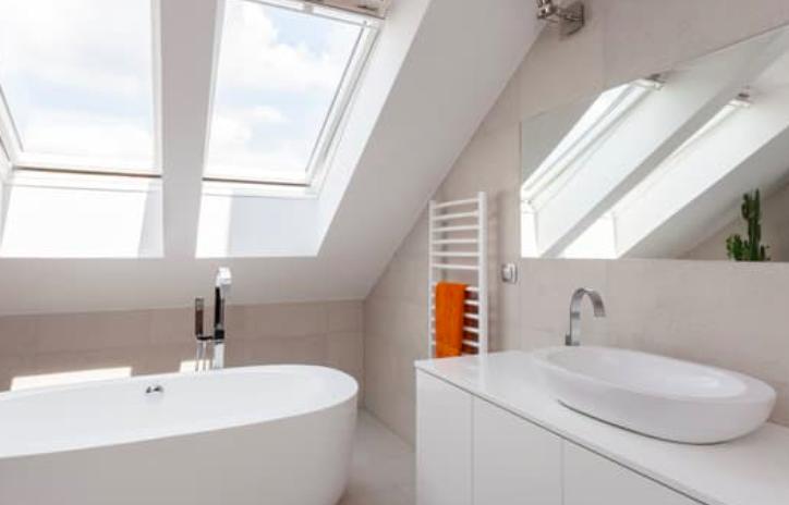 this image shows fullerton bathroom remodel