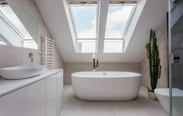 this image shows fullerton bathroom remodeling